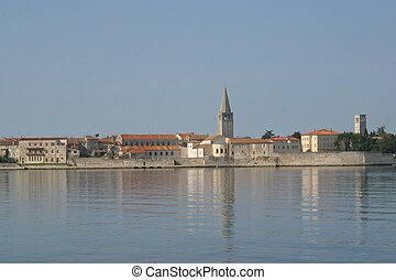 Sea town of Porec - Croatia - Sea town of Porec - Istria...