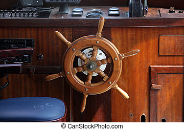 barco, Timón