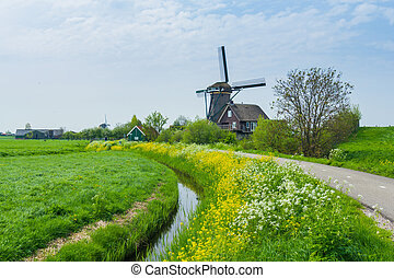 Holland Windmill - Windmill on the outskirts of Amsterdam....