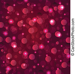 Abstract background with bokeh effect - Illustration...