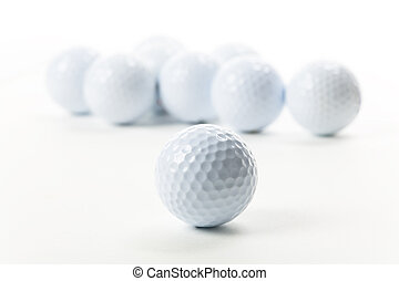Golf Ball close up shot