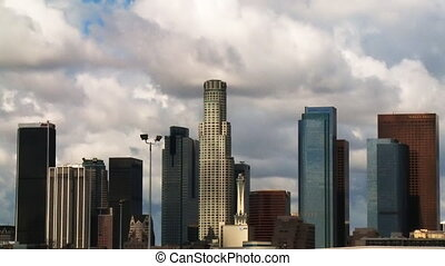LA Clouds 01 (Time Lapse) - Clouds passing over the LA...