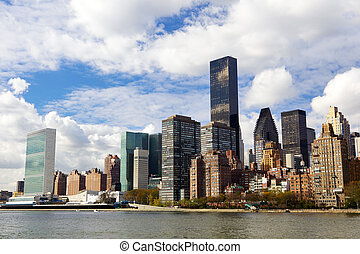 New York architecture - Manhattan midtown buildings, New...