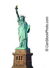 el, estatua, libertad