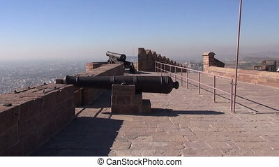 historical cannons in India