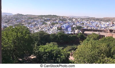 blue city Jodphur view in Rajasthan