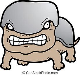 Hard dog - Creative design of hard dog