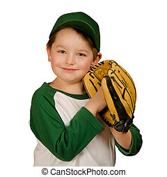 Young baseball or t-ball player - Cute young baseball or...