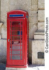 british style phone booth mdina malta - red british style...