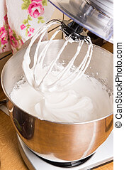 meringue in food processor