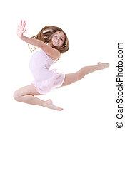 ballet dancer leap - child ballet dancer leap or dance