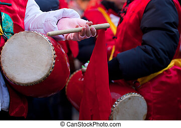 Chinese New Year parade in Milan - MILAN, ITALY - FEBRUARY...