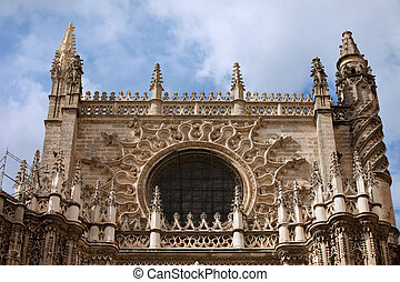 Seville Cathedral Gothic Architecture - Architectural...