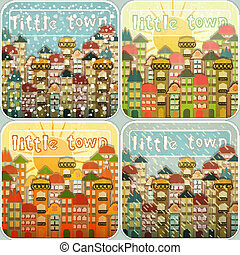 Little Town Seasons Set