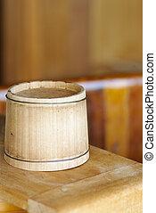 wood pail