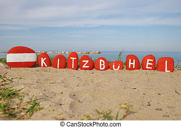 Kitzbhel, town in Tyrol, Austria - Kitzbuhel, souvenir with...