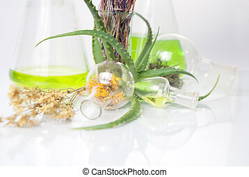 Extract of plants. Natural chemistry.