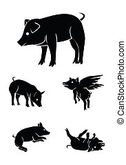 pig Collection Set