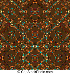 Seamless Paisley-Floral background