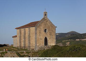 Ermitage in Mundaka, Bizkaia, Spain