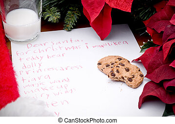 childs christmas list - childs christmas wish list