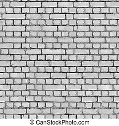Grey Brick Wall Background. - Grey Brick Wall Seamless...