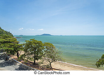 Kep, praia, cambodia