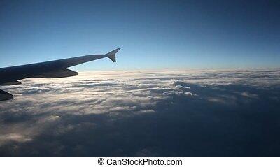 Flight in the morning