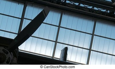 Aircraft In Hanger