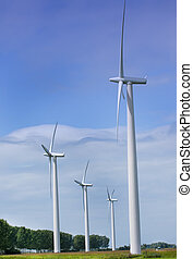 Wind energy - windenergy turbine for natural energysupply