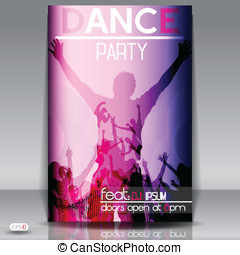Party design template , Vector Illustration