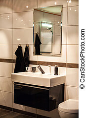 Beautiful Large Bathroom in Luxury New Home - Beautiful...
