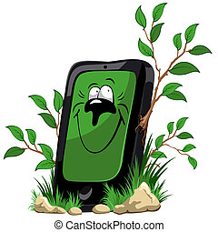 Ecology mobile phone