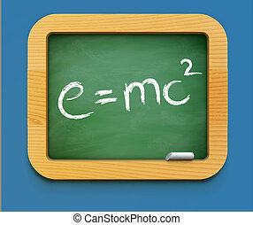 physics class icon - Vector illustration of physics class...