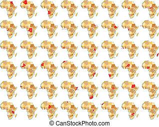 Afrikanische Lnder - Alle afrikanische Lnder