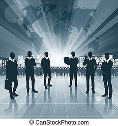 Conceptual Business Background new 12