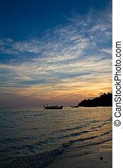 Sunset on a Thai Beach