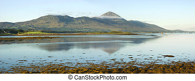 Croagh Patrick, Irelands holy mountain - Early morning light...