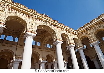 Thirumalai Palace - MADURAI, INDIA - MARCH 23: Tirumalai...