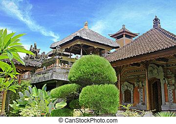 Goa Gajah - INDONESIA - FEBRUARY 28: Goa Gajah Temple (The...