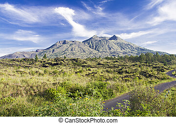 Mount Batur at morning, Bali