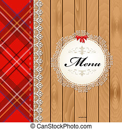 Cloth on wood texture for your design
