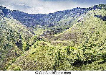 Inside Batur volcano