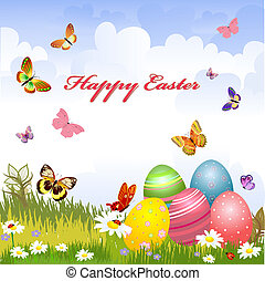 greeting card for Easter