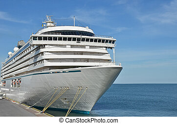 Cruise tourist ship