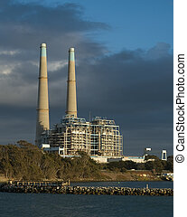 Natural Gas Power Plant - California natural gas power plant...