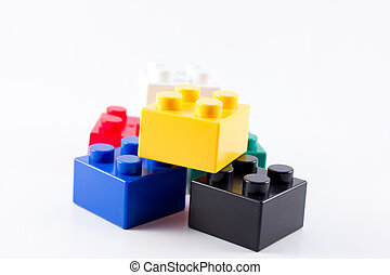 lego colorful toy cubes