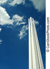 Singapore War Memorial Monument - The top of Singapore War...