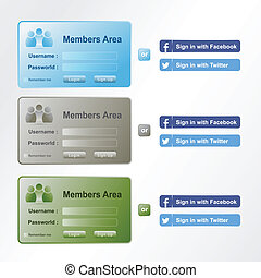 members area login - members area log-in