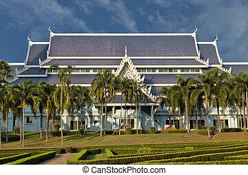 Temple complex Wat Yan in Thailand, Pattaya